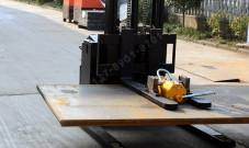 叉车安装起重永磁铁的方法与案例