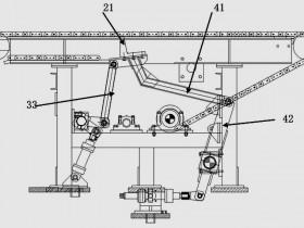 专利CN201610257471.X电梯T形钢全自动码垛系统及工艺