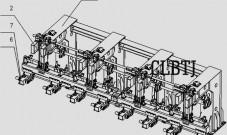 专利CN106144636B精确定位多组并联高速码垛系统