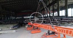 吊运棒材用电磁吸盘案例