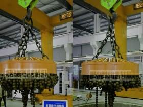 吊钢球用起重电磁铁