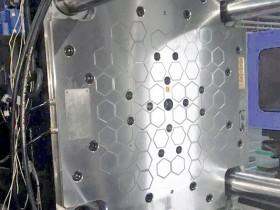 正六边形磁极的蜂巢全钢磁力模板
