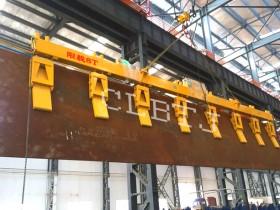 侧吊翻转钢板用电永磁铁