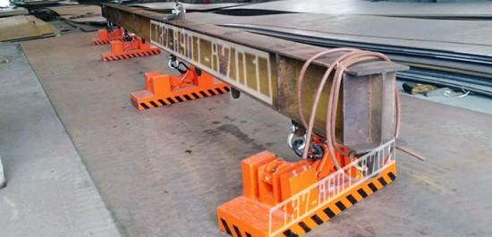 超宽钢板用加长型起重永磁铁