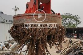 直径1.2米挖掘机用废钢电磁吸盘