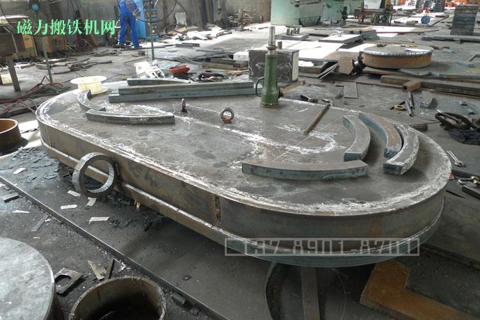 岳阳电磁吸盘构造-外磁极焊接