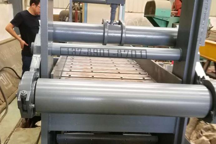 棒线材冷剪定尺用磁力链板输送轨道机