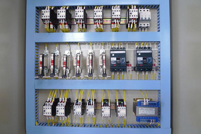 磁力皮带开卷机电磁铁电气控制柜电气布局图