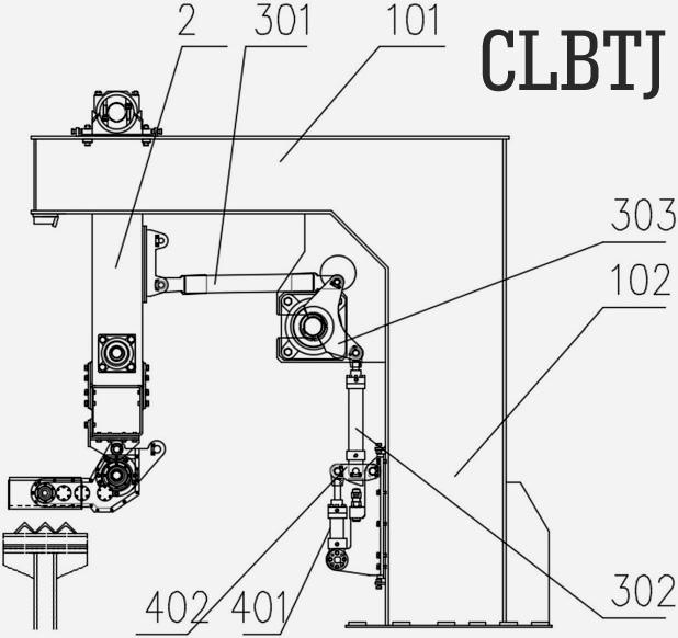 精确定位多组并联高速码垛系统的补偿装置与驱动装置的一种优选组合方式 图11
