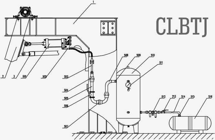 精确定位多组并联高速码垛系统预紧装置的一种优选方式图12