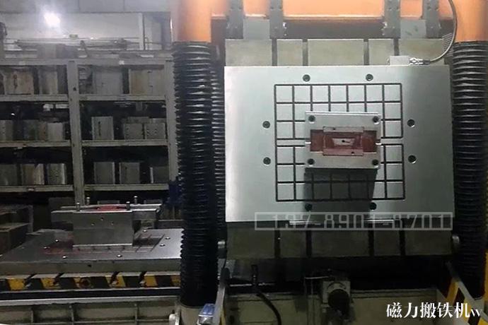 冲床冲压模具快速更换用电永磁铁案例