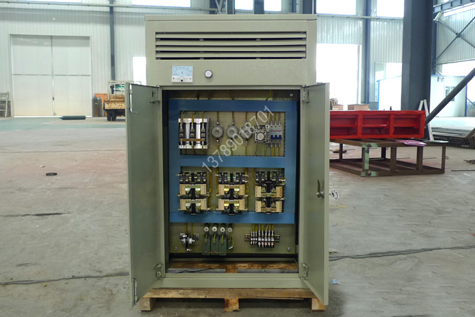 DKP-4A整流控制柜内部元件示意图