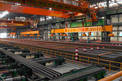 吊运轨道钢用起重电磁铁