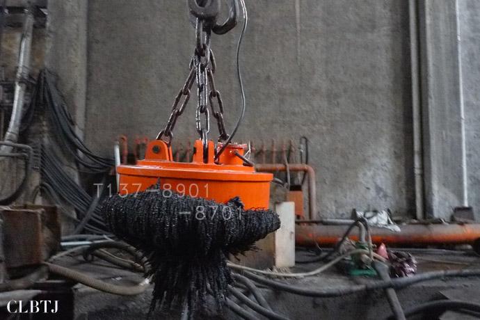 捞钢渣用电磁铁