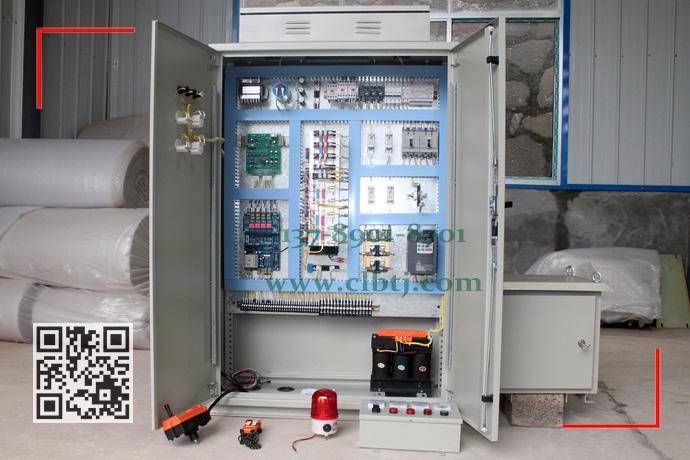 无触点停电保磁调磁控制柜布局图