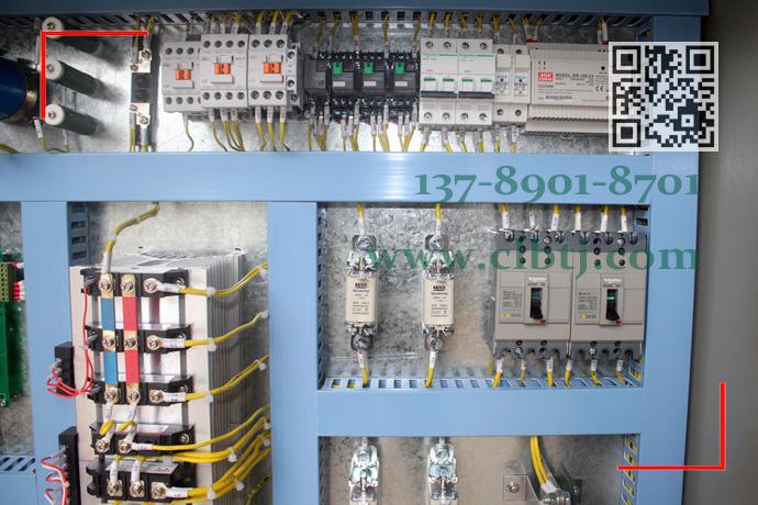 无触点停电保磁调磁控制柜局部细节