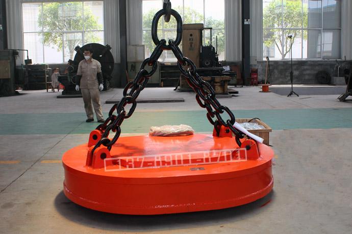 椭圆形起重电磁铁