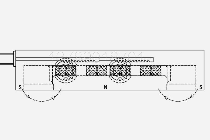 既可用作起重永磁铁又可用作永磁除铁器的磁力设备专利实用新型内容