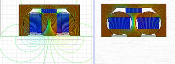 起重永磁铁(磁力搬铁机)结构吸卸钢板原理图