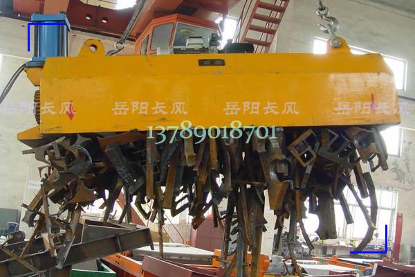 吸吊废钢用起重永磁铁(磁力搬铁机)